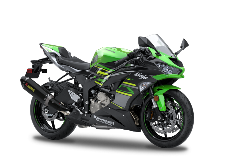 Lime Green Upgrade to Performance Edition for extra £800 Ninja ZX-6R 636 KRT