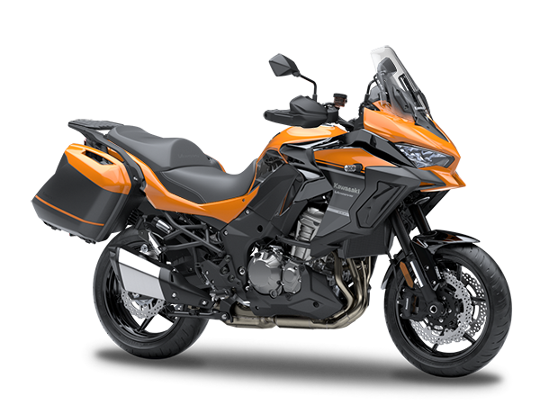 New Candy Steel Furnace Orange TourerKawasaki Versys 1000