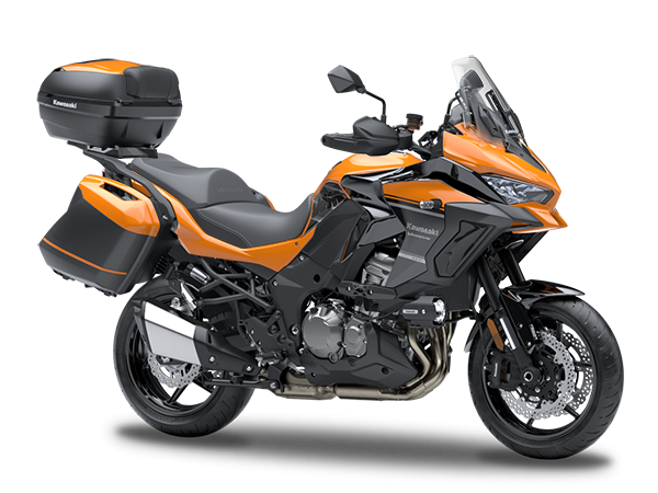 New Candy Steel Furnace Orange Grand TourerKawasaki Versys 1000