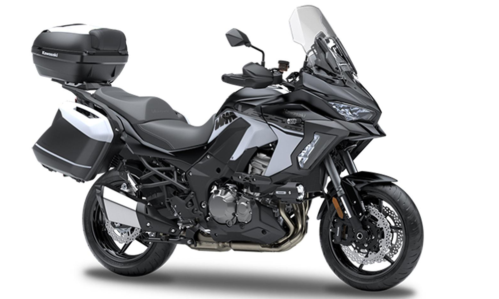 SE Metallic Flat Spark Black Versys 1000 Grand Tourer