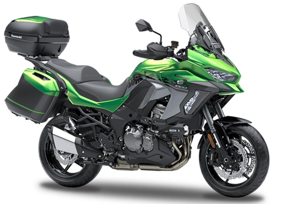 SE Emerald Blazed Green Versys 1000 Grand Tourer