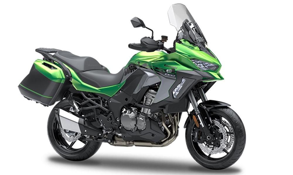 Emerald Blazed Green Tourer Versys 1000 SE