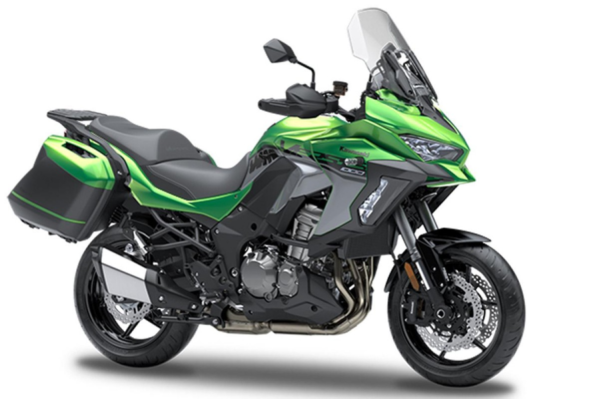 Emerald Blazed Green Tourer Versys 1000 SE