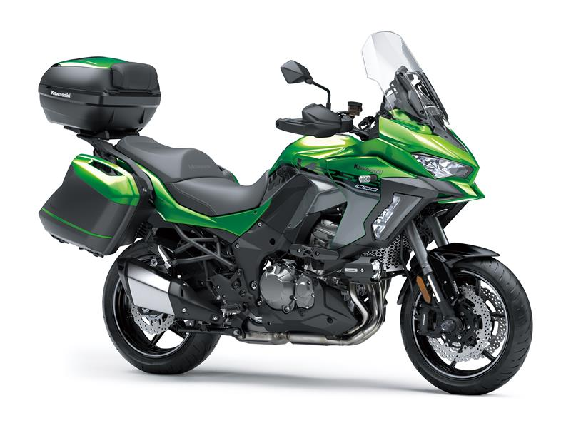 New Emerald Blazed Green Grand TourerKawasaki Versys 1000 SE