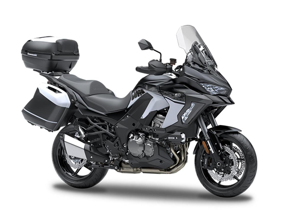Metallic Flat Spark Black  GrandTourer Versys 1000 SE
