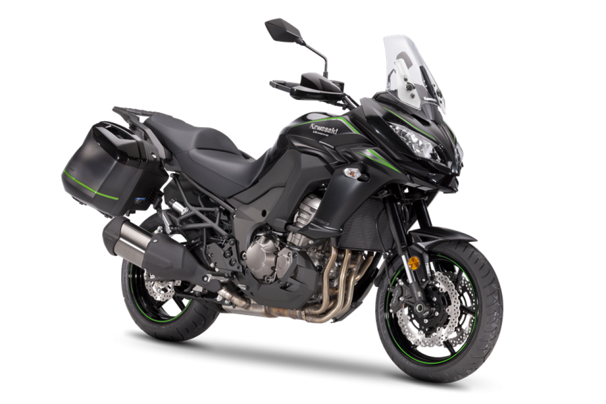 Metallic Flat Spark Black / Metallic Spark Black Versys 1000 Tourer