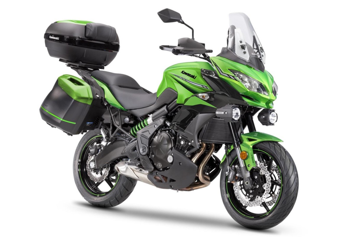 Candy Lime Green Versys 650 Grand Tourer