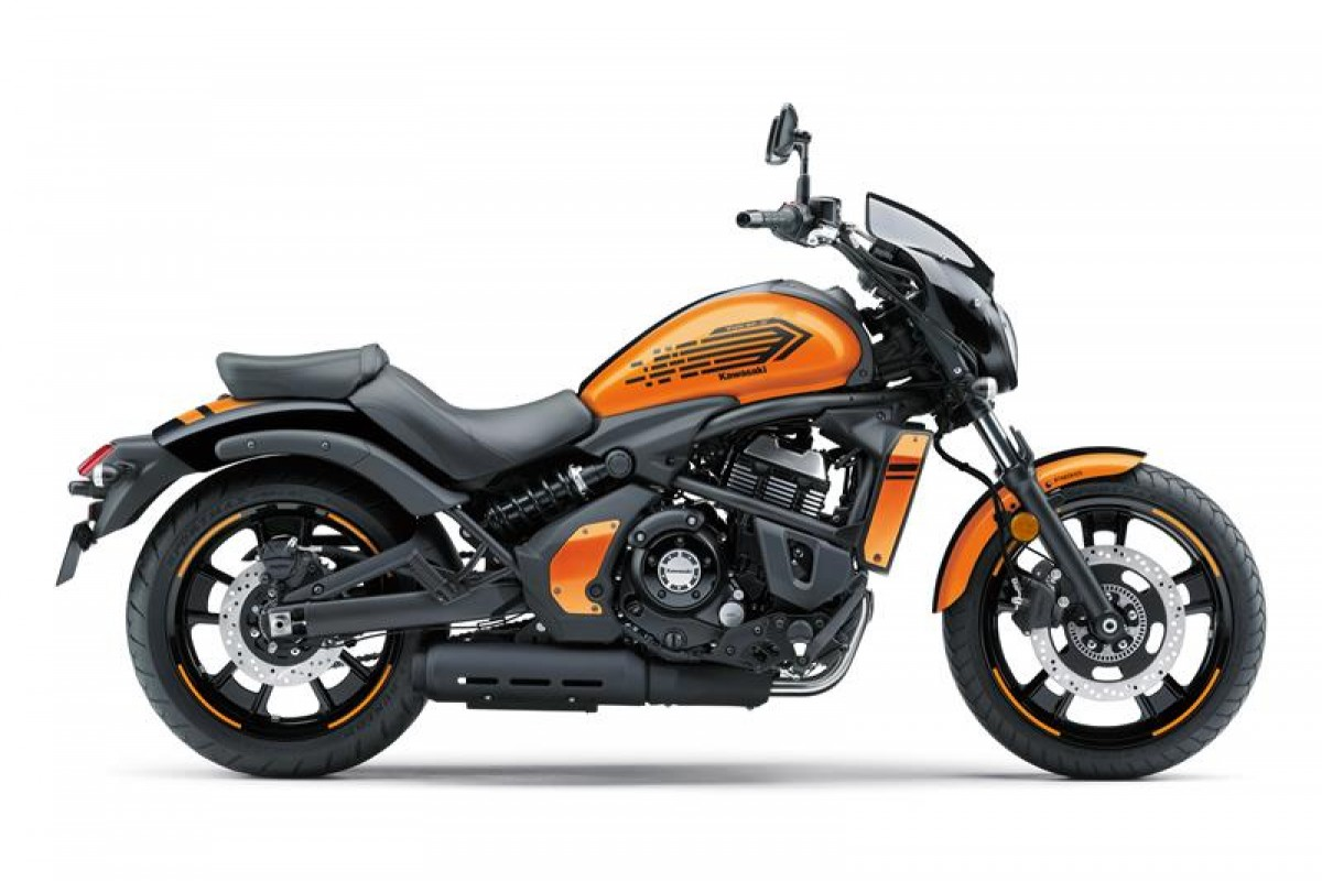 Candy Steel Furnace Orange / Metallic Spark Black Vulcan S Cafe