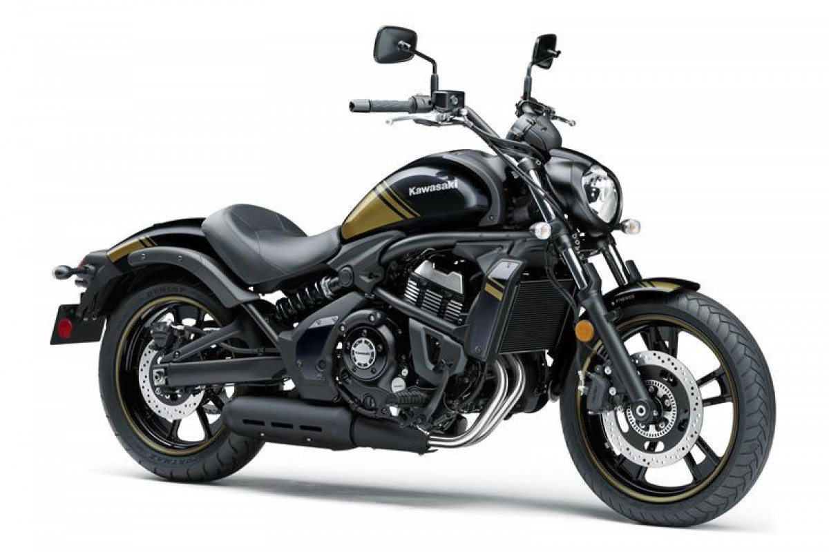 Metallic spark Black with Gold EN650DLFA Vulcan S
