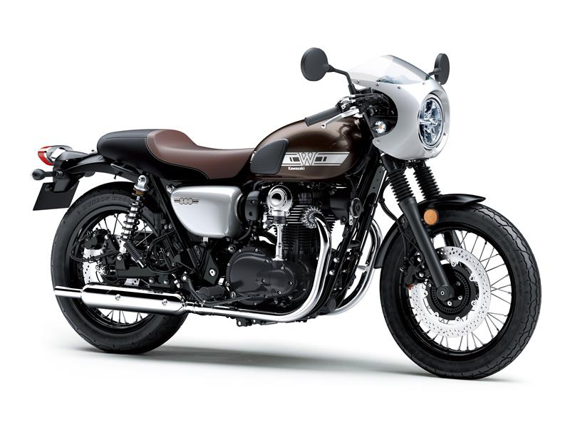 New Metallic Magnesium Grey / Galaxy Silver (Cafe)Kawasaki W800 cafe racer  EJ800CKF