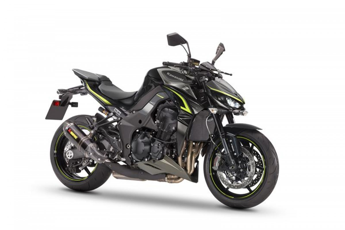 Metallic Spark Black / Metallic Graphite Gray Z1000R Performance
