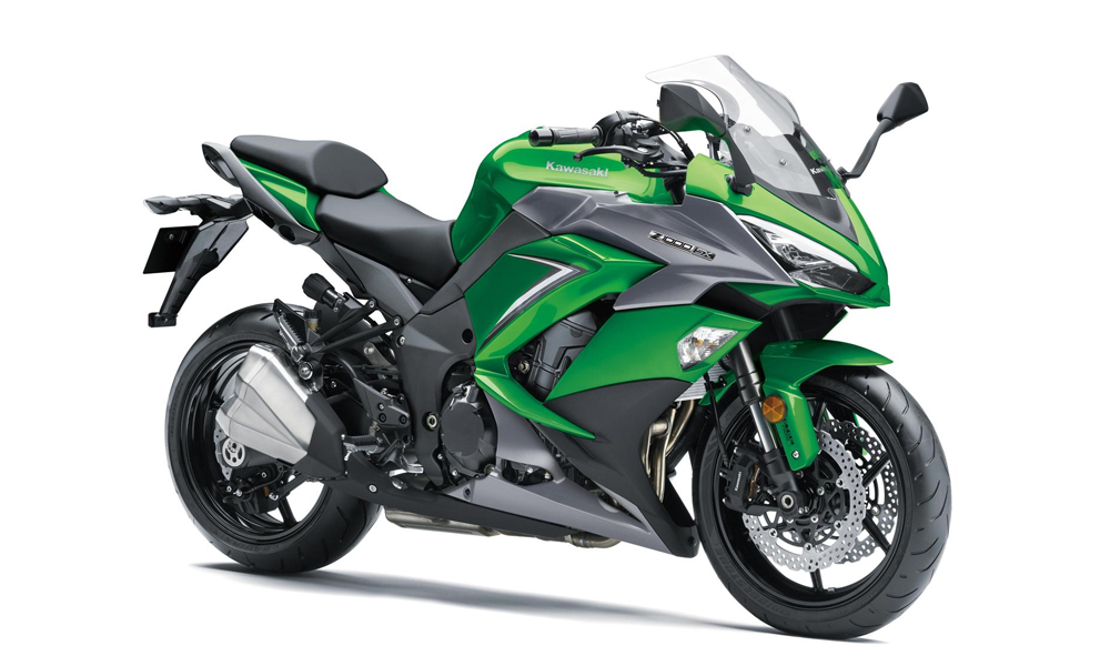 Emerald Blazed Green FREE Touring Kit Z1000SX