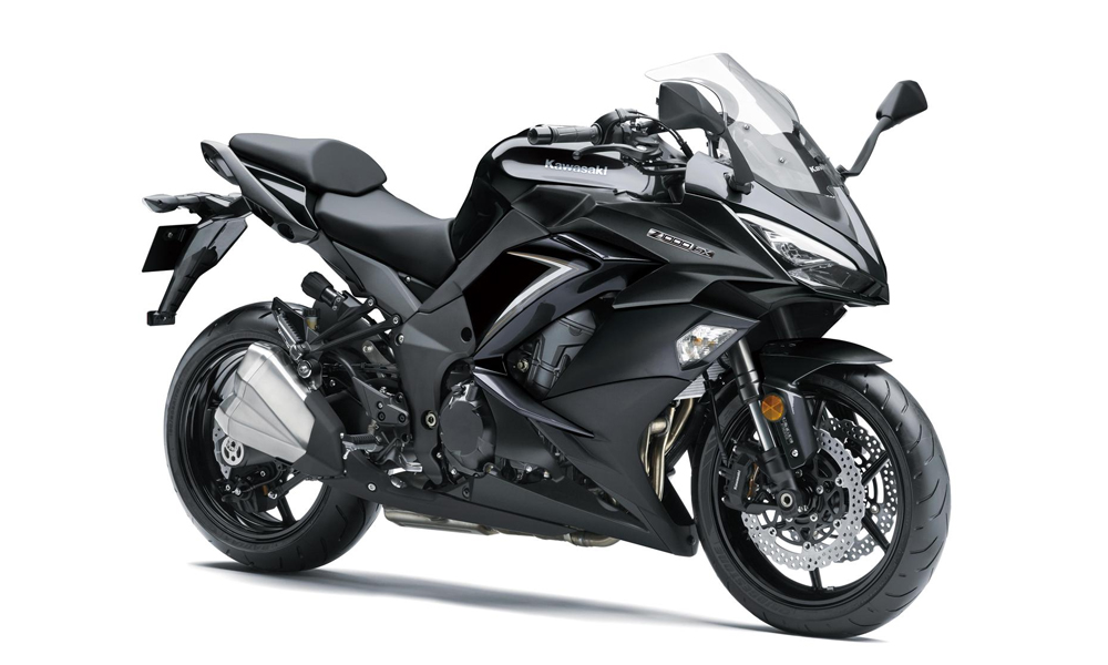 Metallic Spark Black FREE Touring Kit Z1000SX