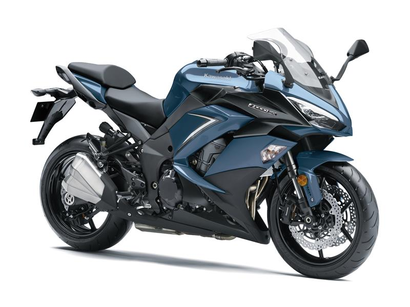 Stormcloud Blue / Metallic Matt Carbon Grey FREE Touring Kit Z1000SX