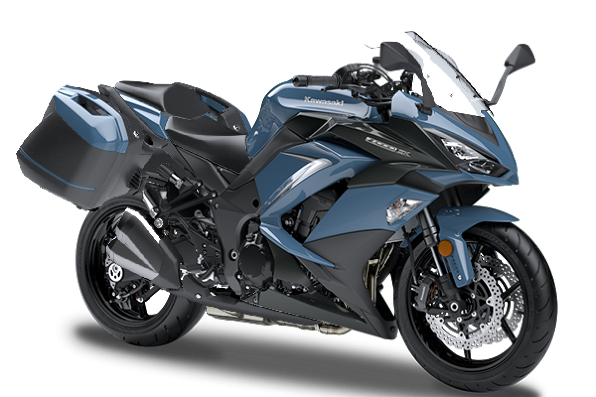 Stormcloud blue FREE Touring Kit Z1000SX