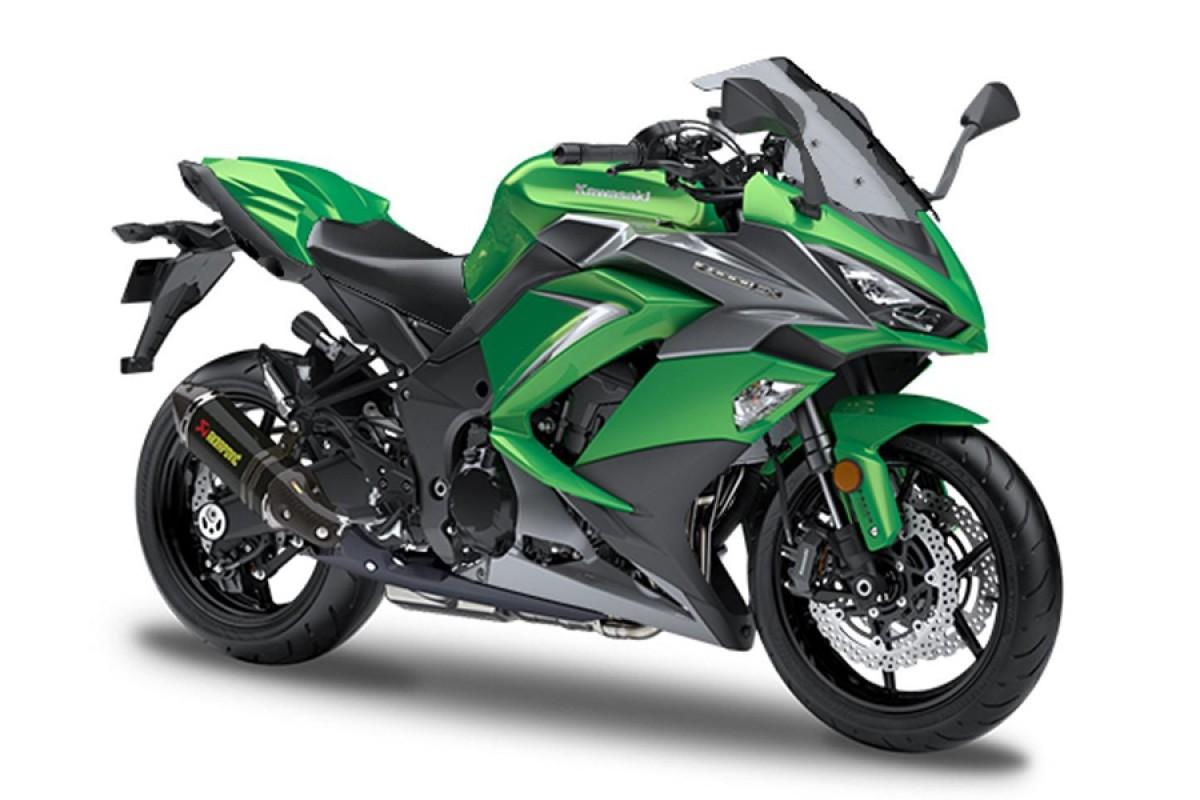 Emerald Blazed Green Z1000SX Performance edition