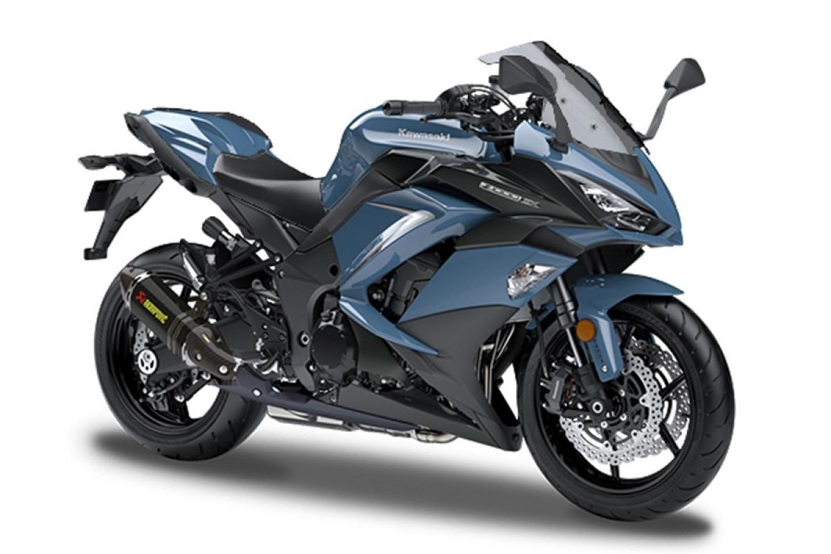 Stormcloud Blue Z1000SX Performance edition