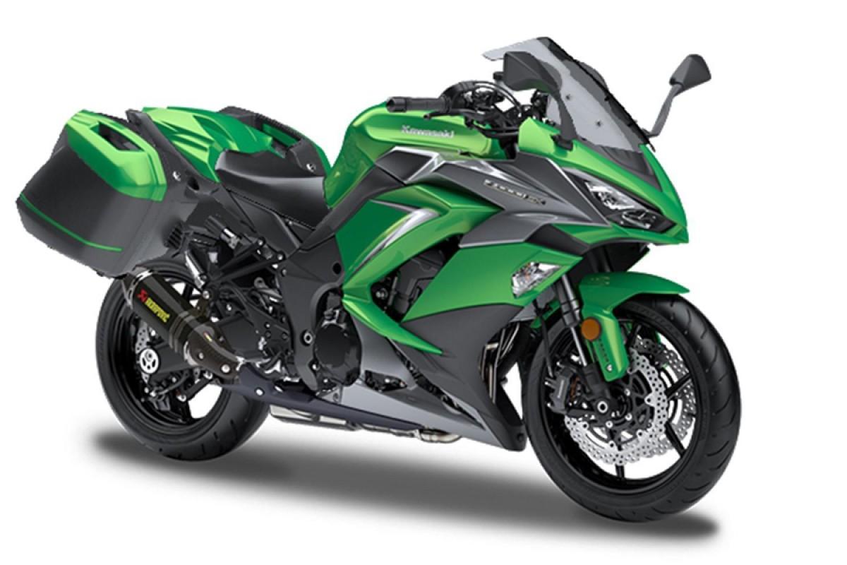 Emerald Blazed Green Z1000SX Performance Tourer