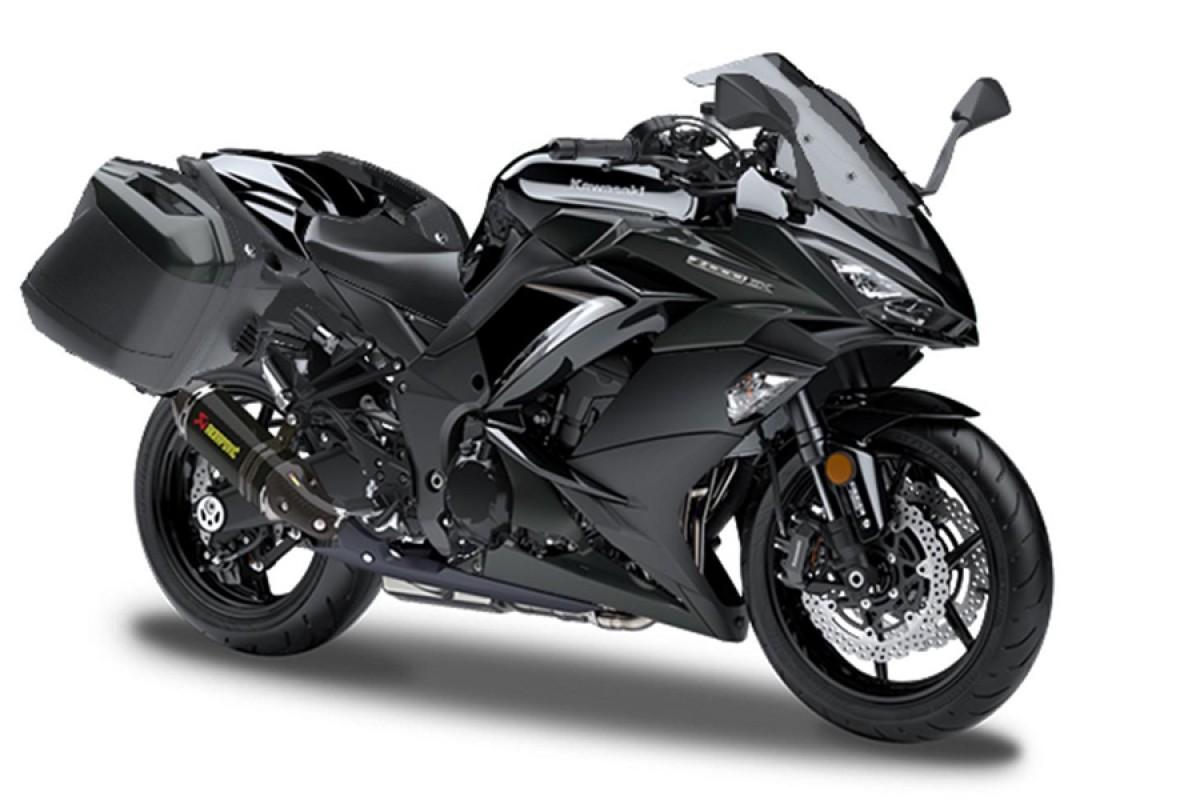 Metallic Spark Black Z1000SX Performance Tourer