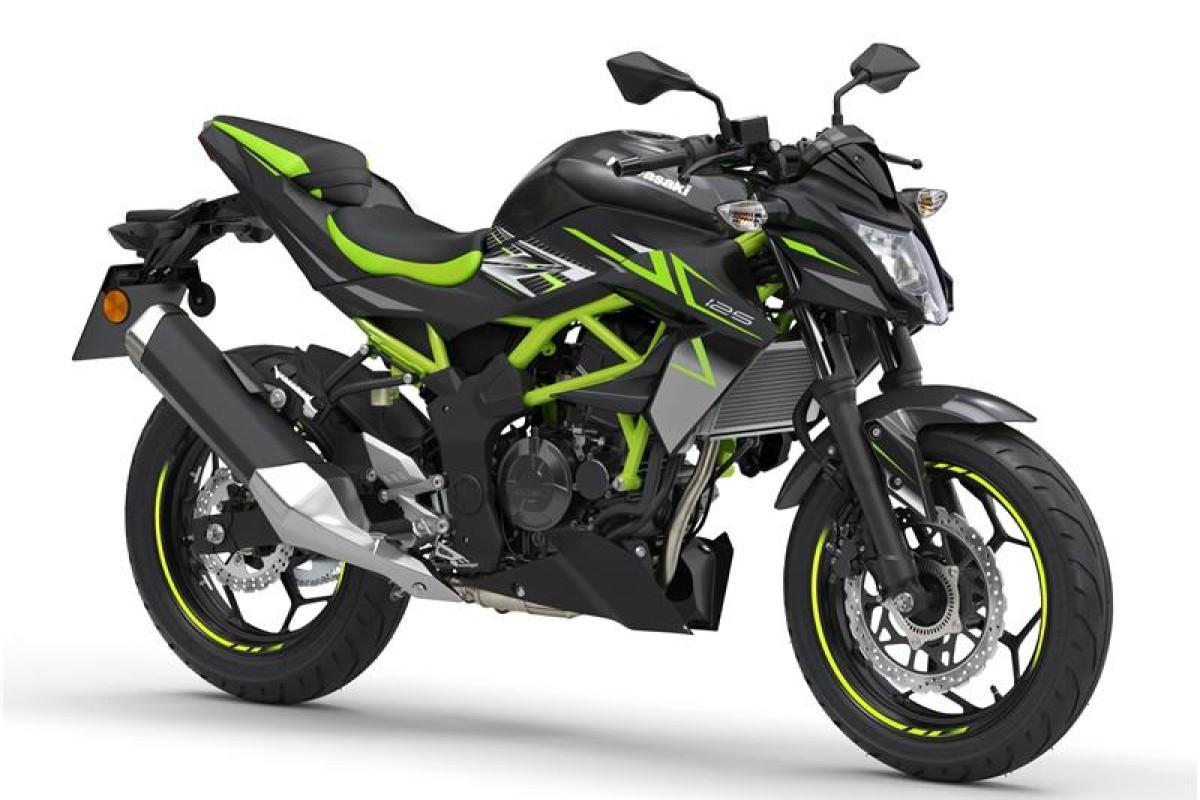 Metallic Flat Spark Black Z125 2022 Model