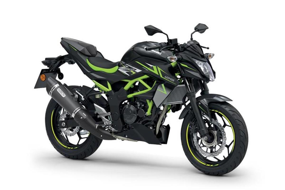 Metallic Flat Spark Black Z125 Performance 2022 Model