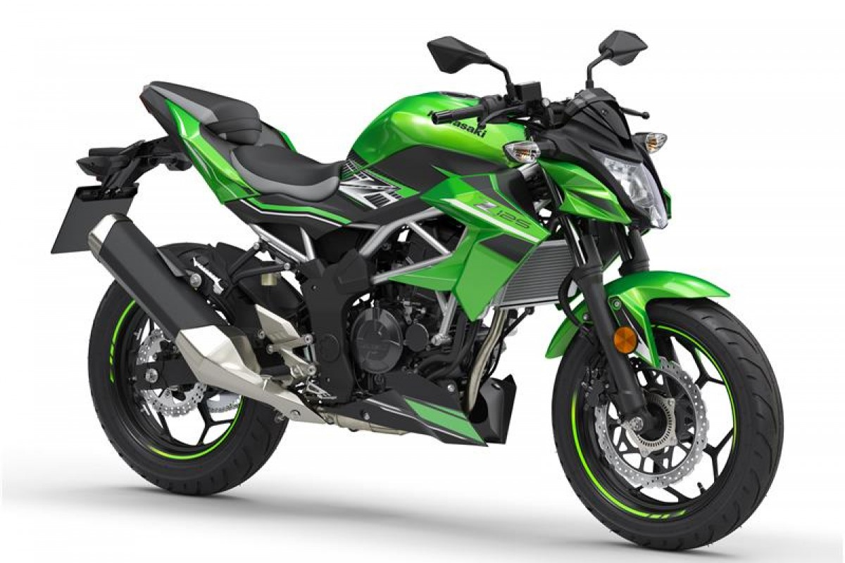 Candy Lime Green / Metallic Flat Spark Black Z125