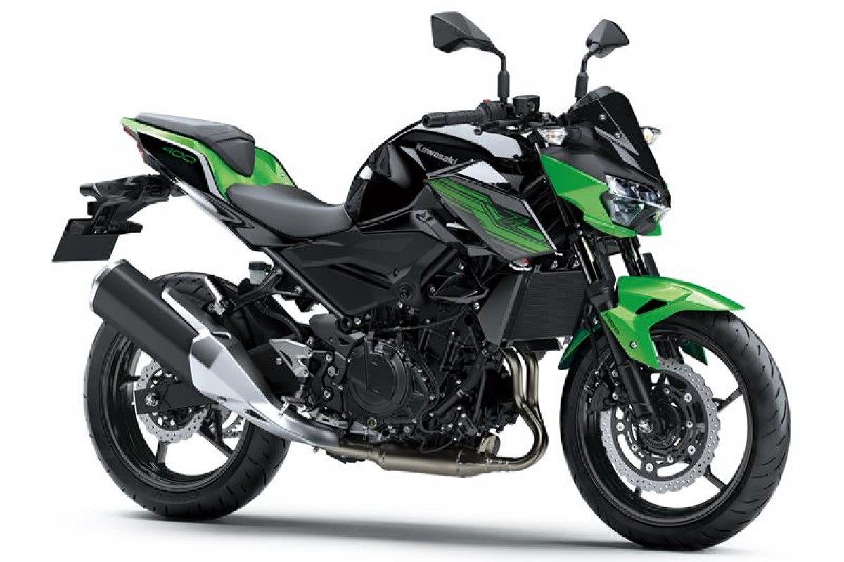 Candy Lime green / Metallic Spark Black Z400
