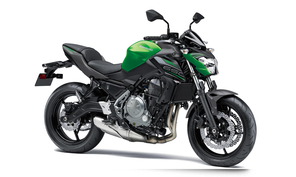 Candy Flat Blazed Green Kawasaki Z650