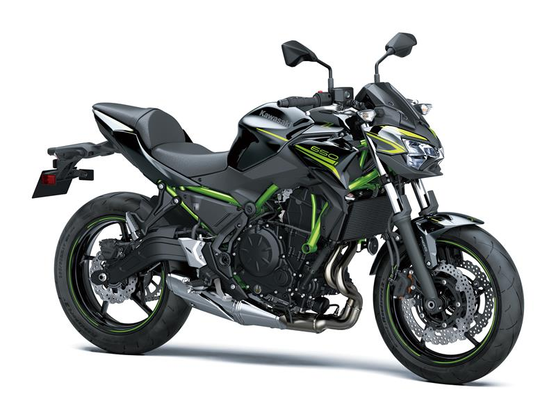 New Metallic Spark BlackKawasaki Z650