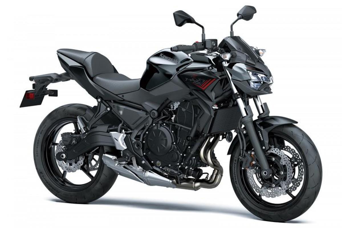 Metallic Spark Black / Metallic Flat Spark Black Z650 ER650KMFAN WT1