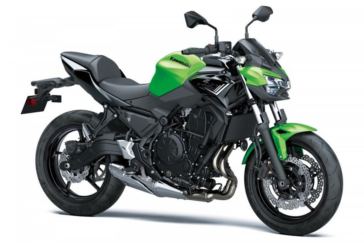 Candy Lime Green / Metallic Spark Black Z650