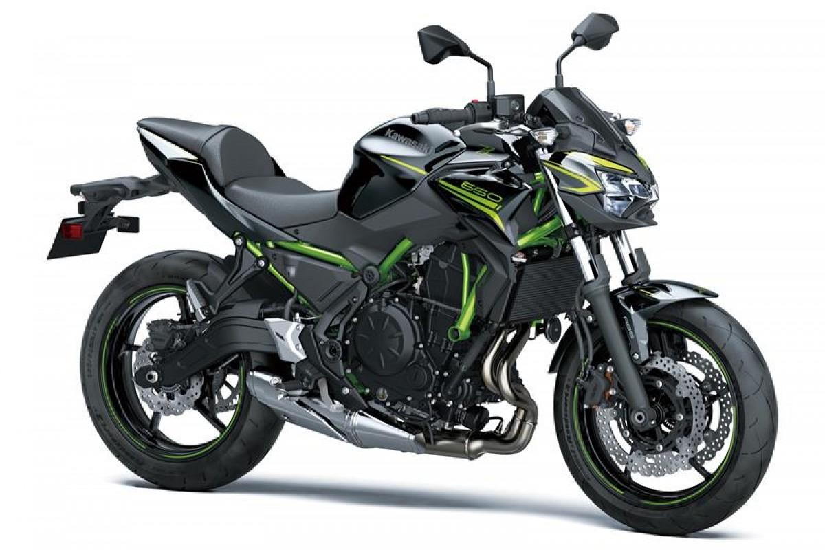 Metallic Spark Black Z650