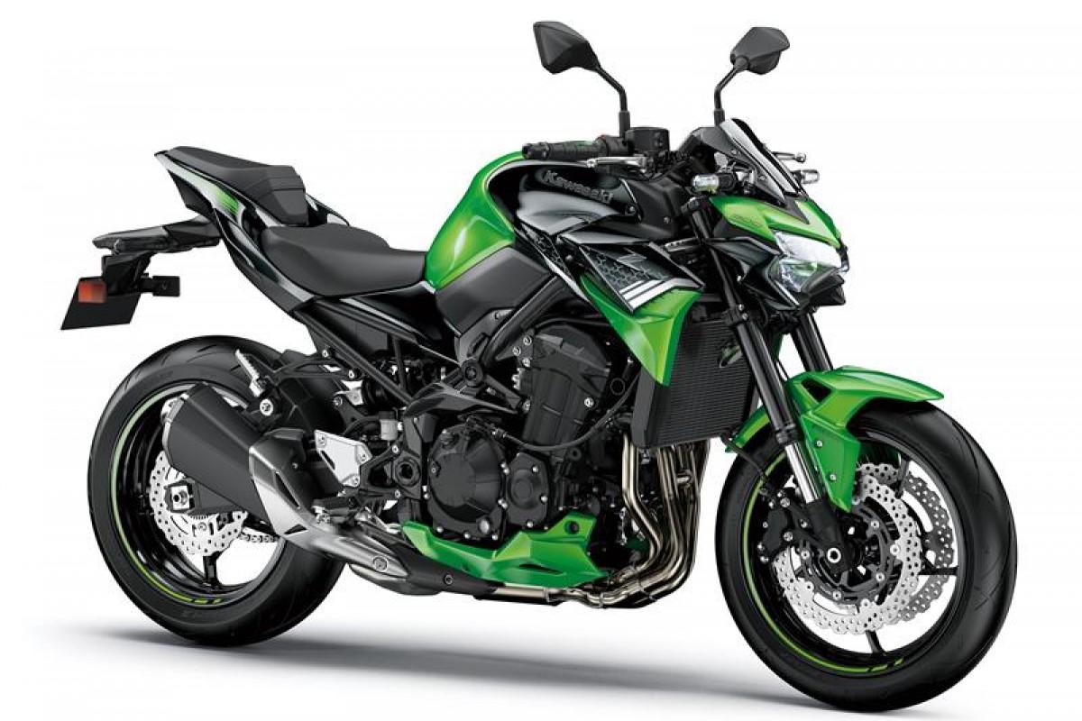 Candy Lime Green / Metallic Spark Black Z900