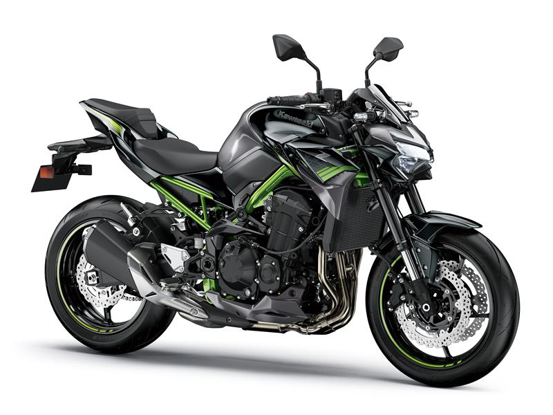 New Metallic Graphite Grey / Metallic Spark BlackKawasaki Z900