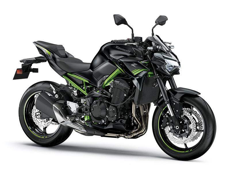 MS Black/MFS Black Green frame Z900