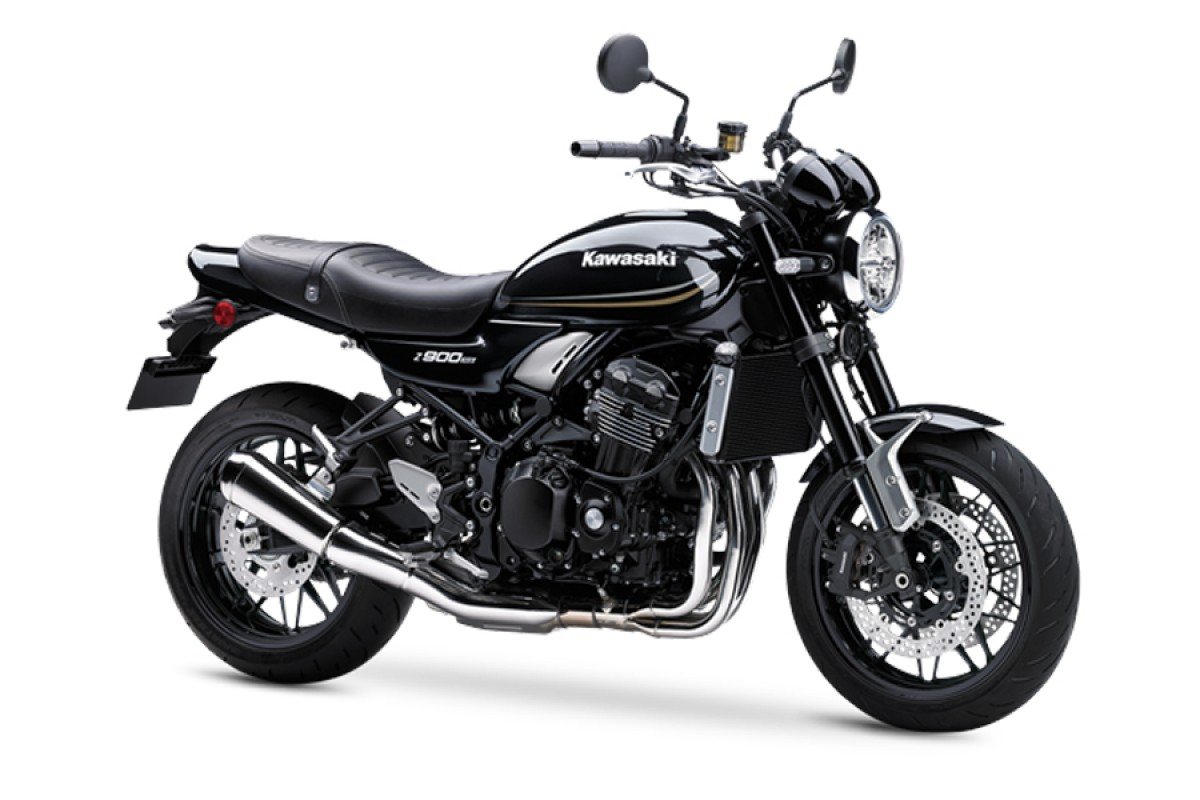 Metallic Spark Black Z900 RS