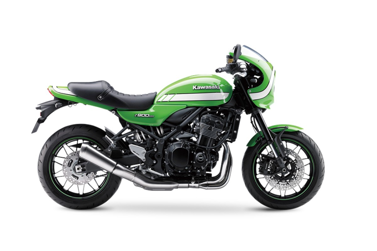 Vintage Lime Green Z900 RS Cafe