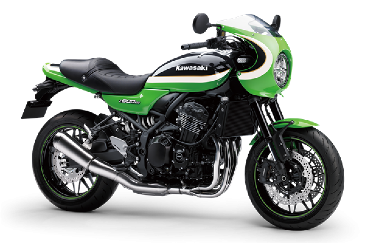 Vintage Lime Green / Ebony Z900 RS Cafe