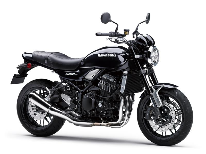 New Metallic Diablo BlackKawasaki Z900RS