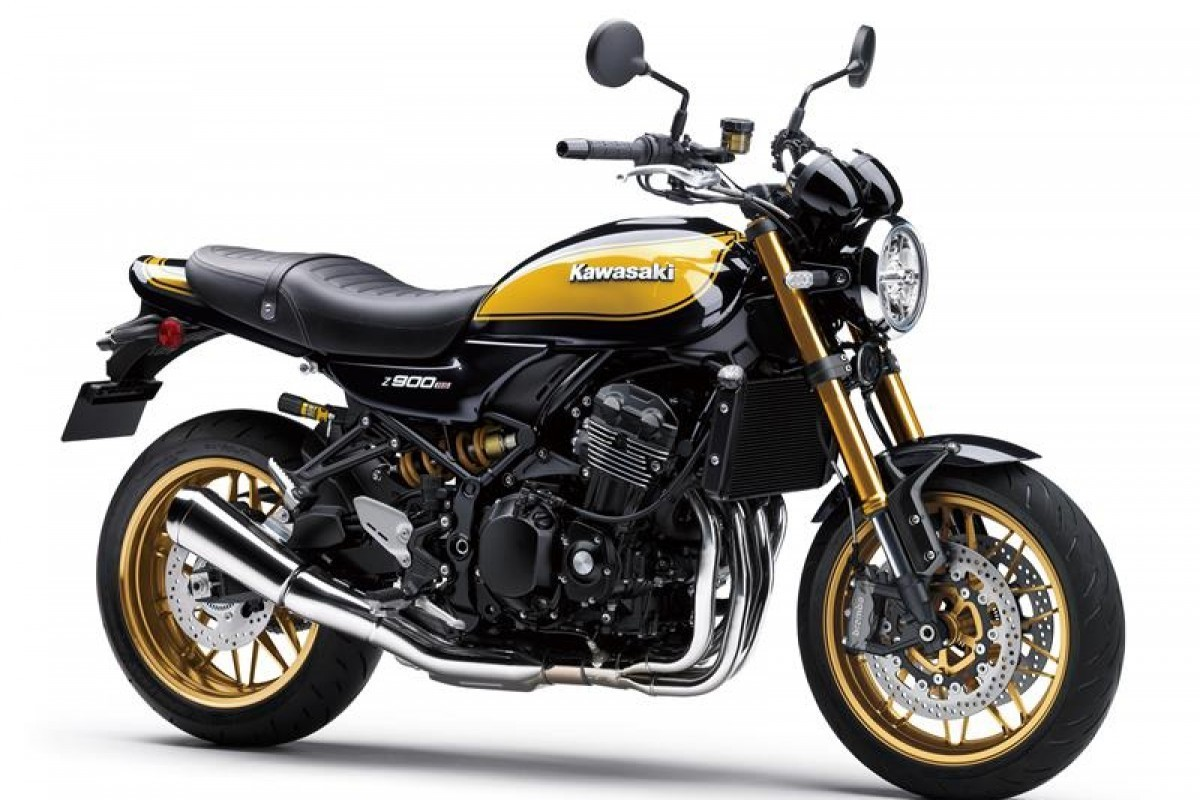 "Kawasaki Z900RS SE ""Yellow Ball"""