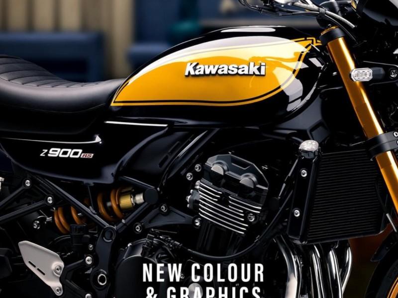 "Kawasaki Z900RS SE ""Yellow Ball"" 2022"