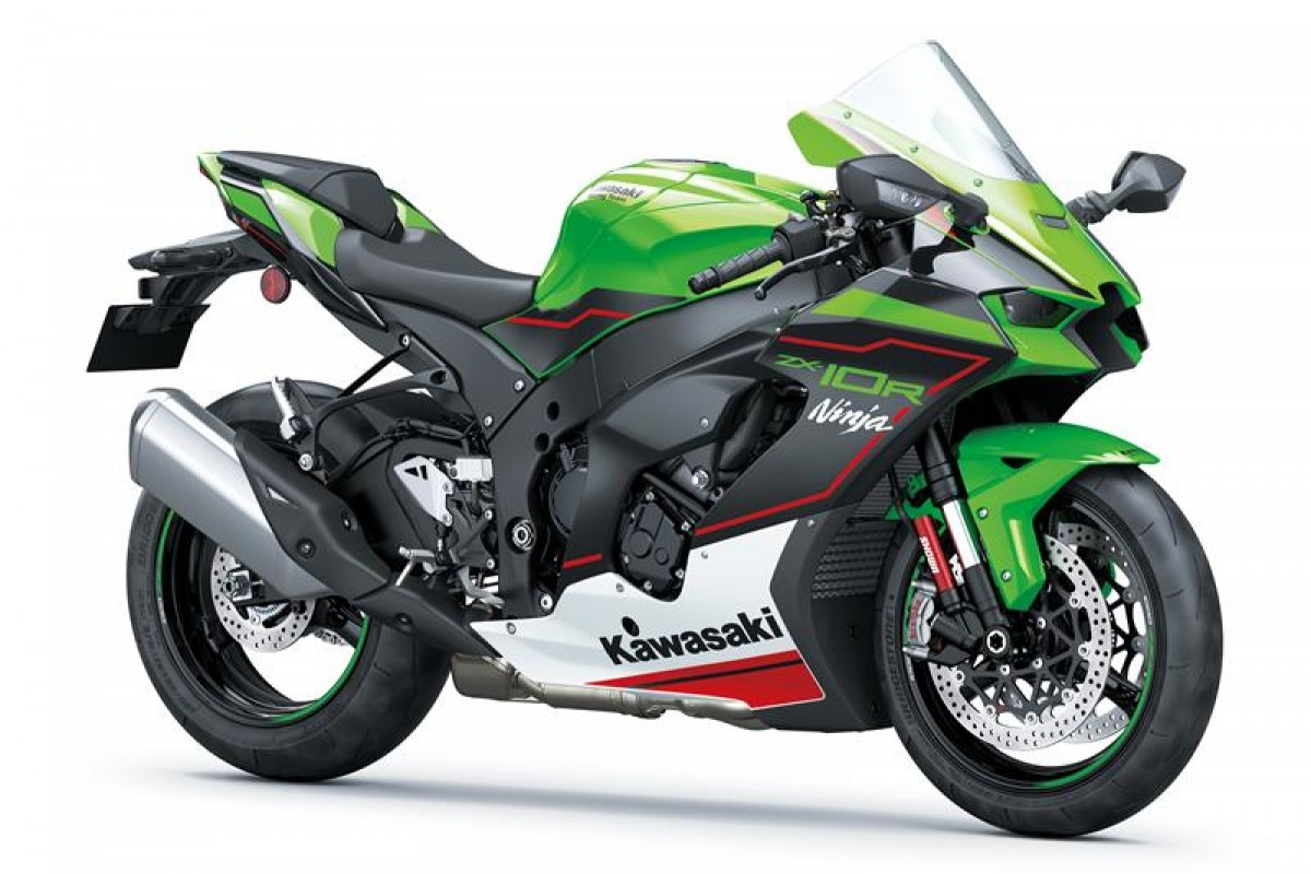 Lime Green / Ebony / Pearl Blizzard White  (available May/June 2021) Ninja ZX-10R ZX1002LMFAN BK2