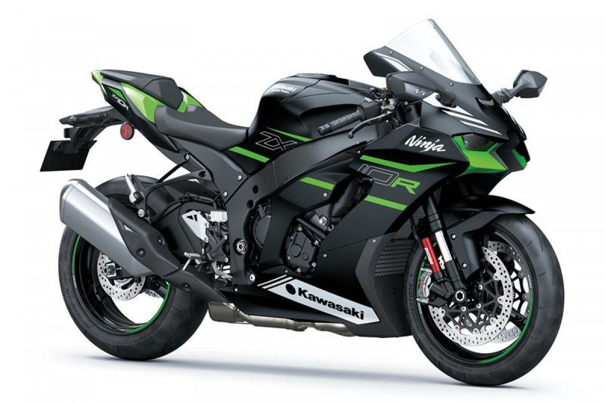 Flat Ebony (available May/June 2021) Ninja ZX-10R ZX1002LMFAN GN1