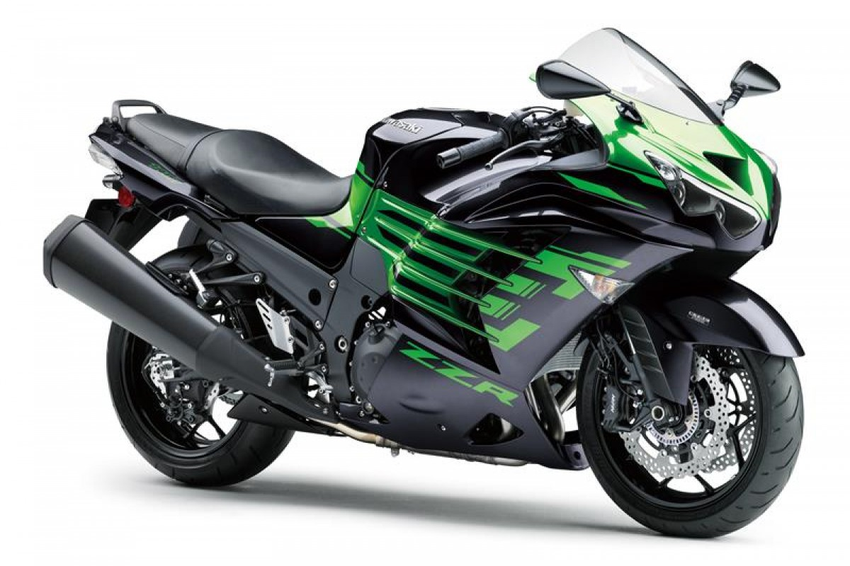 Metallic Diablo Black / Golden Blazed Green ZZR1400