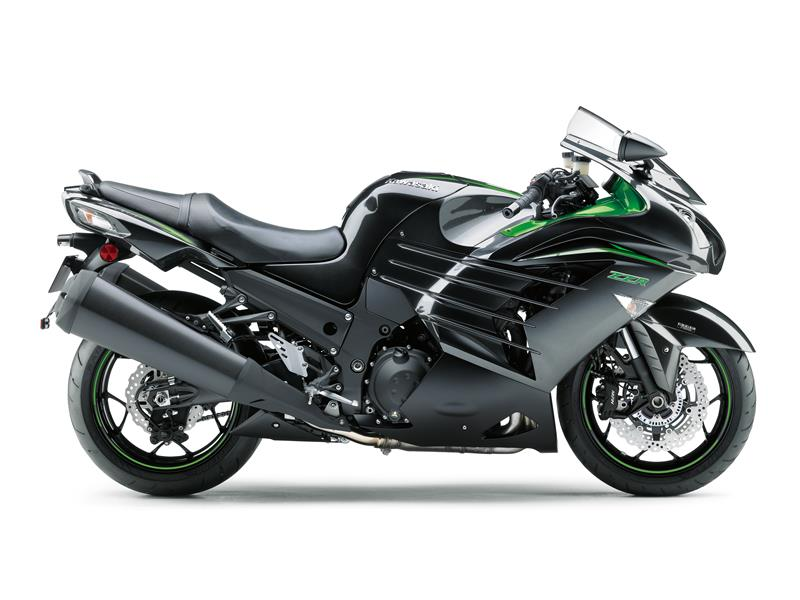 New Metallic Spark BlackKawasaki ZZR1400 Performance