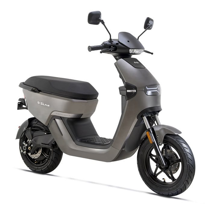 Anthracite E-Zi PLUS Electric