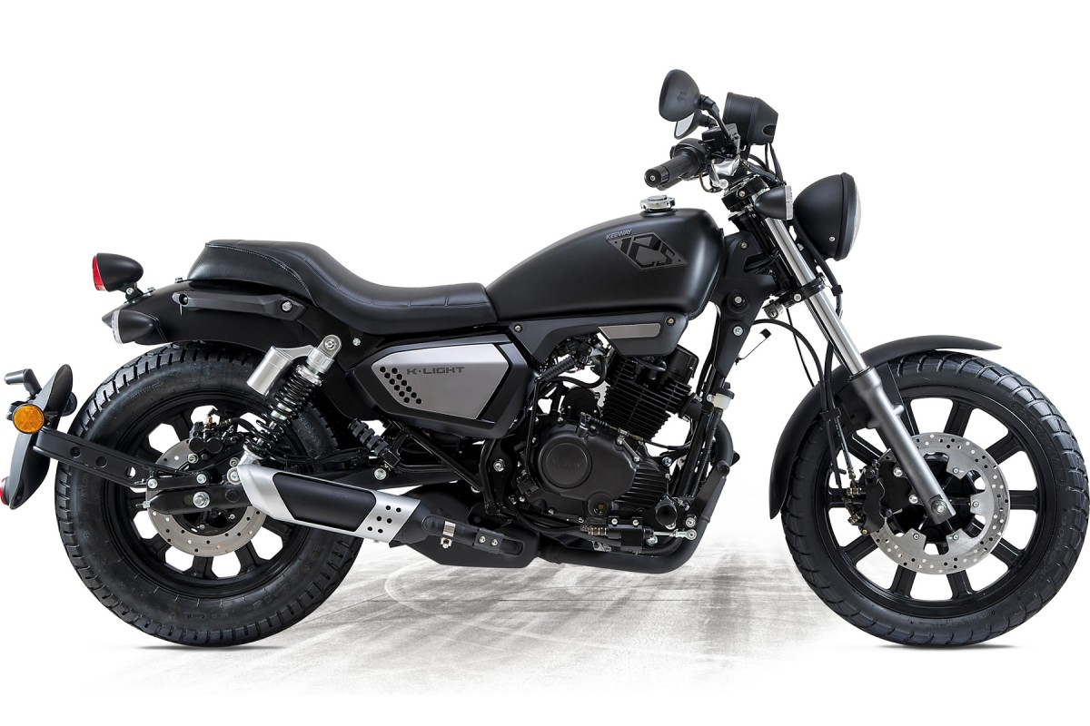 Gloss Black Very Low Stock K-Light 125cc