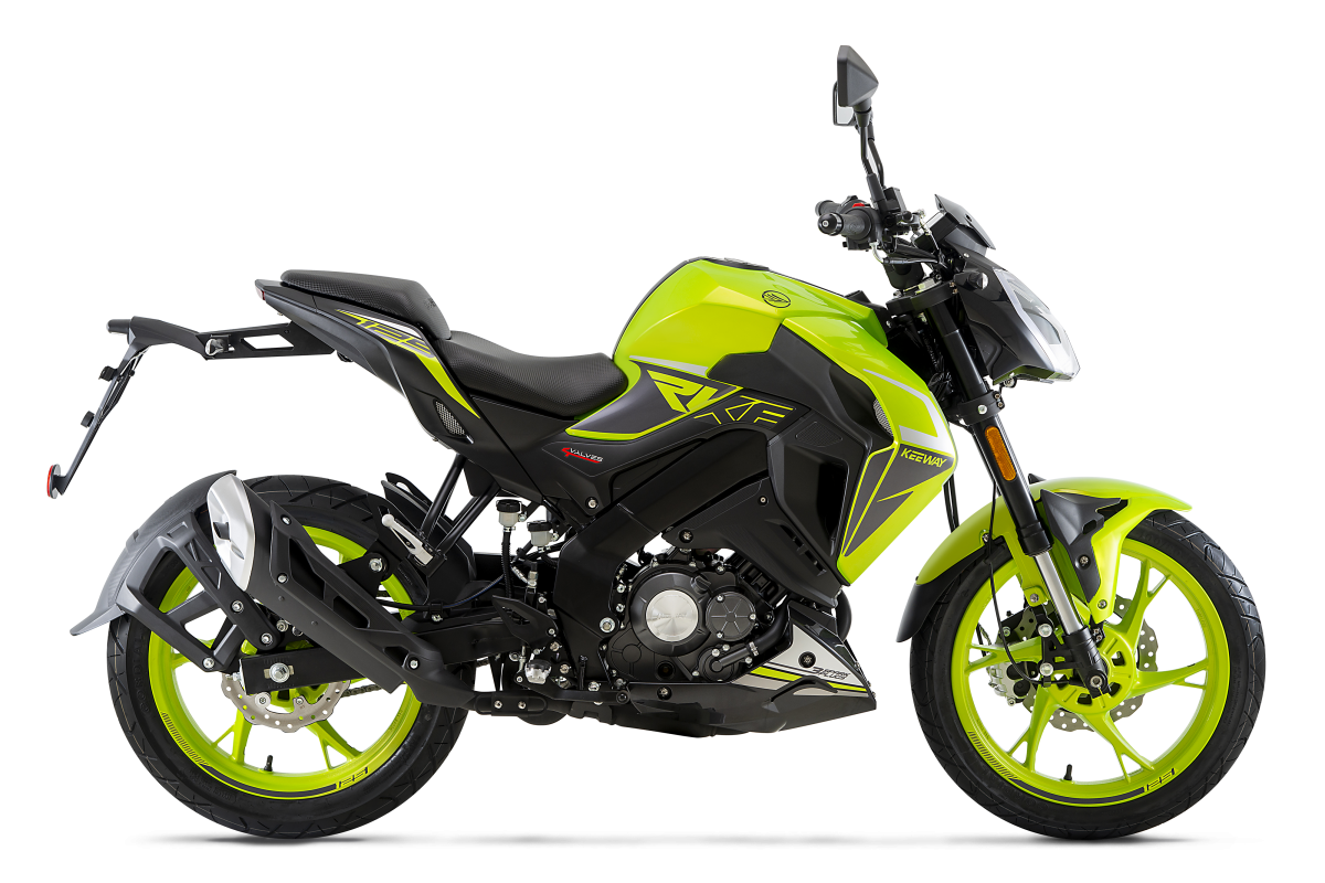 Flash Green RKF 125cc E5
