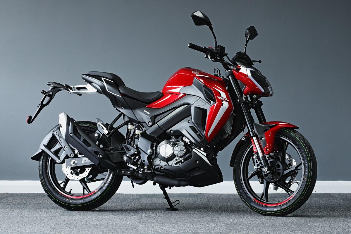 Red RKF 125cc E5