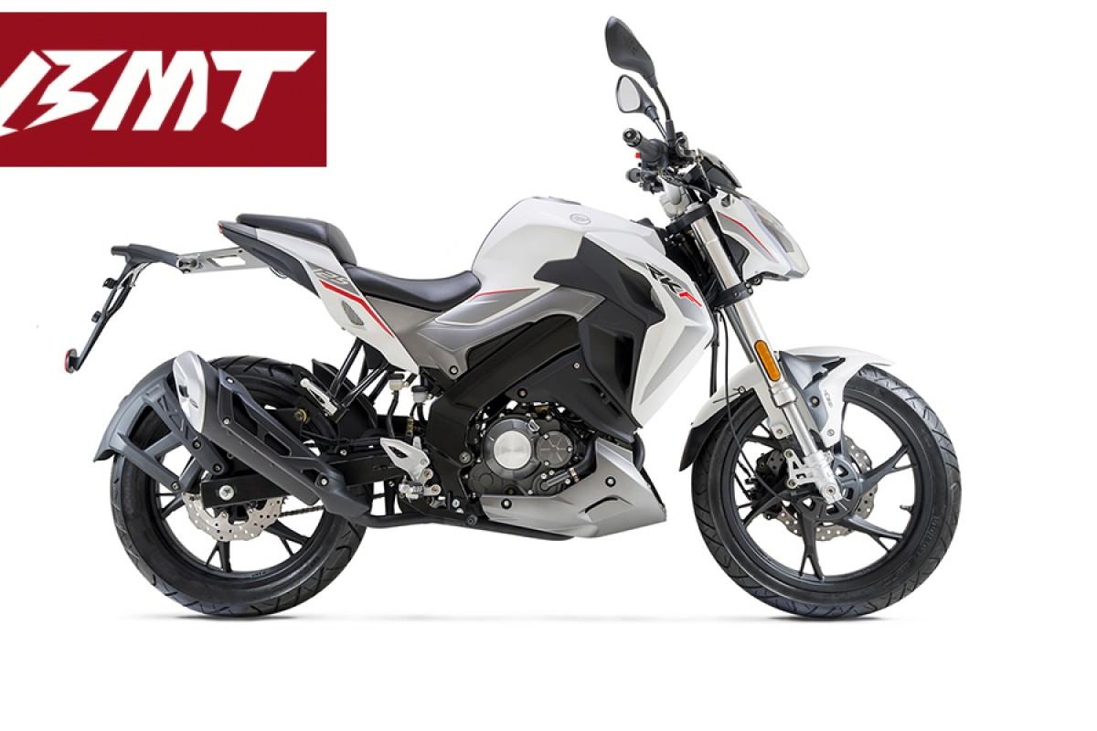 White RKF 125cc E5